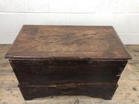 Antique Welsh Oak Coffer Bach (14 of 15)