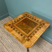 Stunning Victorian Walnut Antique Sorrento Table (6 of 8)