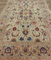 Good Pair of Antique Kashan Carpets (5 of 11)