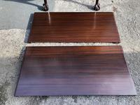Antique Mahogany 8Ft Wind Out Extending Dining Table (4 of 14)