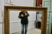 A 19th Century French Large Gilt Mirror (6 of 8)