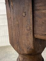Rustic French Oak 19th Century Farmhouse Kitchen Table (27 of 31)