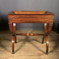 Stunning French Charles X Walnut Library Writing Table (10 of 16)
