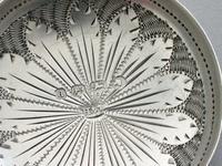 Victorian Silver 'Frying Pan' Caddy Spoon by Hilliard & Thomason, Birmingham, 1875 (7 of 10)