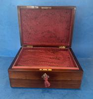 William IV Rosewood Jewellery Box with Mother of Pearl Inlay (10 of 12)