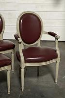 Set of 8 French Dining Chairs Lovely Original Finish (9 of 18)