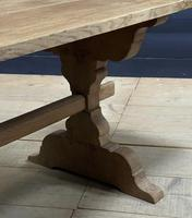 Smaller French Farmhouse Bleached Oak Dining Table (13 of 17)
