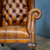 Wingback Leather Armchair (6 of 12)