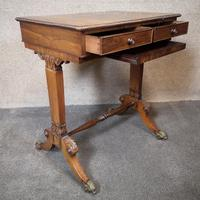 Early 19th Century Free Standing Rosewood Table (11 of 11)