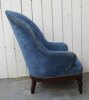 Antique French Empire Library Armchair (6 of 9)