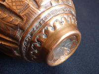 Early 19th Century Engraved Persian Copper Vase (6 of 16)