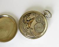 1924 Elgin White Gold Filled Pocket Watch (3 of 3)