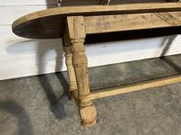 Large Rustic French Farmhouse Dining Table (12 of 18)
