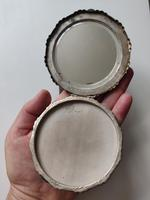 Solid 900 Silver Loose Powder Compact Large Size Continental 1930s-1940s (7 of 13)