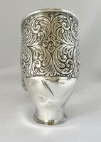 Large Very Rare Sterling Silver Shoe Box. Birmingham 1921 (2 of 9)