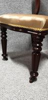 Outstanding Set Eight Mahogany Dining Chairs (8 of 9)