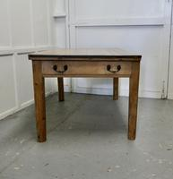 Lovely Rustic Georgian Pine Kitchen Table (2 of 6)