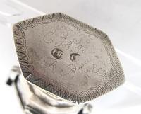Amazing Stone Set Danish Silver Hovedvansaeg c.1819 (5 of 10)
