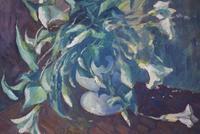 Mid Century Large Still Life Flowers by Bob Vigg (4 of 10)