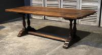 French Oak Farmhouse Refectory Dining Table (2 of 20)