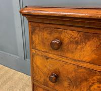 Pair of Burr Walnut Bedside Chest by Heal and Son (6 of 16)