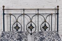 Handsome Victorian no End King Size Bed (2 of 9)
