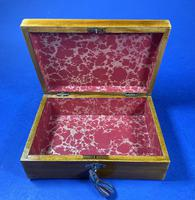 Victorian Rosewood Box With Inlay. (5 of 12)