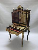 French 19th Century Louis XV Style Boulle Dressing Table (7 of 13)