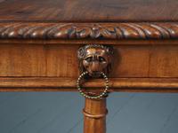 Antique Regency Mahogany Side Table (13 of 19)