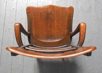 Rare Antique Set of 34 American Oak Chairs (12 of 15)