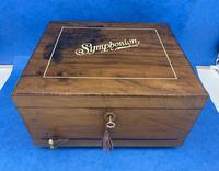 Victorian  Walnut Symphonian Music Box (16 of 22)