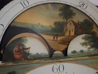 Fine English Longcase Clock Radcliff Elland 8-day Grandfather Clock with Moon Roller Dial (26 of 27)