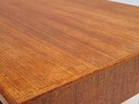 Danish Sofa Table, Teak Wood, Original Very Good Condition 1960s (13 of 16)