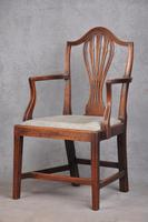 18th Century Mahogany Hepplewhite Armchair (9 of 10)