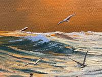 """Seascape Oil Painting """"St Ives Fishing Boat"""" Off Cornwall Coast by Keith English (14 of 36)"""