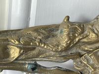 Victorian Brass Hunting Dog Fire Companion Set (18 of 40)