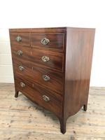 Antique 19th Century Mahogany Chest of Drawers (11 of 14)