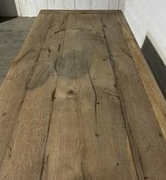 Rustic French Oak 19th Century Farmhouse Kitchen Table (10 of 31)