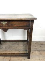 18th Century Oak Side Table (12 of 14)