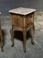 Pair of French Marble Top Bedside Cupboards (11 of 26)