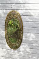 Arts & Crafts Movement Scottish / Glasgow School Large Oval Wall Mirror c.1900 (20 of 28)