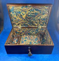 Victorian  Fitted Jewellery Box With Inlay (9 of 15)