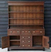 Beautiful 18th Century Georgian Oak Dresser/ Sideboard c.1770 (4 of 14)