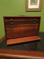 Antique Mahogany Engineers or Toolmakers Drawers, Cabinet, Lockable with Key (9 of 20)
