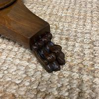High Quality Barley Twist Victorian Mahogany Antique Occasional Table (6 of 7)