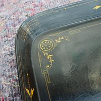 Regency Oblong Lacquered & Painted Tray (3 of 6)