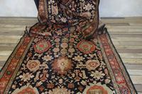 Extremely Long Early 20th Century Kuba Kelleh Corridor Carpet - Rug (7 of 11)