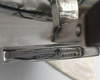 Superb Indian Art Deco Sterling Silver Tea Set Bartons Bangalore Heavy Gauge (4 of 8)