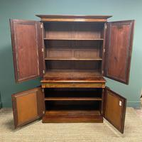 Mahogany Antique Bookcase Cupboard – Charles C Gray 1848 (5 of 9)