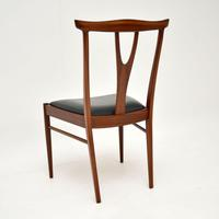 Set of 4 Vintage Dining Chairs in Rosewood & Afromosia (10 of 12)